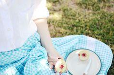сине-зонтик юбка-лето-персик г