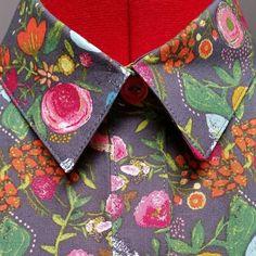 Love the way the collar comes together! #aldershirtdress #grainlinestudio  #isew  #sewistsofinstagram  #sewchaoticallyles_chaoticallyaldershirtdress,grainlinestudio,sewchaotically,isew,sewistsofinstagram