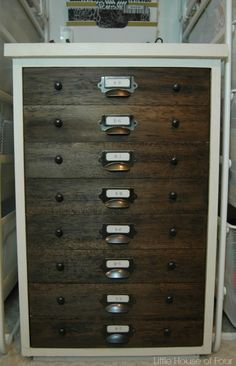 diy reclaimed wood file cabinet from  quot creating the perfect diy 2 drawer file cabinet desk DIY File Cabinet Ideas