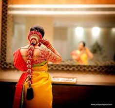 Latest, light weight poolajada designs for modern south Indian bride