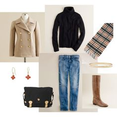 """Black and Tan"" by bluehydrangea on Polyvore"