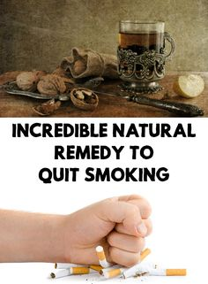 If you try to quit smoking you know how hard it is and sometimes seems impossible. Find out an incredible natural remedy to quit smoking!
