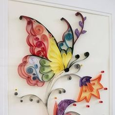 Quilling Tutorial, Ideas Quilling, Quilling Work, Paper Quilling Patterns, Quilling Paper Craft, Paper Crafts, Quilling Supplies, Quilling Letters, Paper Quilling Cards