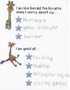 Giraffes can't dance idea