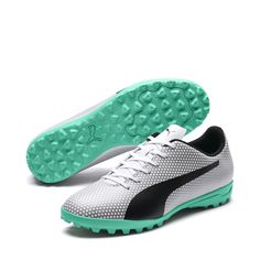 meet 7afe7 0ee12 PUMA PUMA Spirit TT Turf Chaussures de soccer pour hommes Chaussure de foot  Nouveau  Chaussure