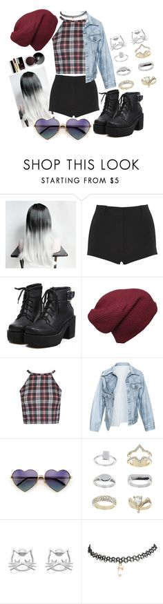 """""""Up"""" by sarethoran on Polyvore featuring Givenchy, Faustine Steinmetz, Wildfox, Topshop and Chanel"""