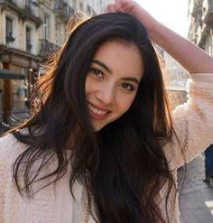Mai Davika #Thai Mai Davika, Pretty Asian, Beautiful Smile, Ulzzang Girl, Pretty Face, Pretty Hairstyles, Asian Beauty, Beauty Women, My Idol