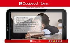 "Plataforma virtual ""Curso manejo de estrés"" - Portal Coopeuch Educa."
