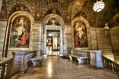 Detroit Public Library - Frescos by w4nd3rl0st (InspiredinDesMoines), via Flickr