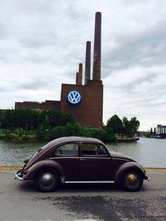[ Wolfburg Volkswagen ] Toen ik voor Volkswagen werkte hier geweest.Indrukwekkende fabriek, enorm groot.