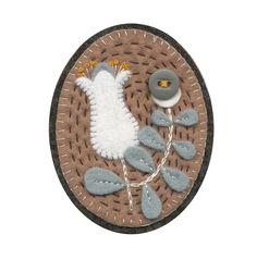 elsa mora felt pin