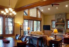 rustic craftsman kitchens | ... , Mountain, Photo Gallery, Craftsman House Plans & Home Designs