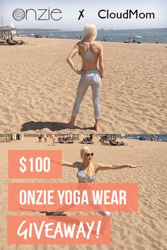 A summer body workout on the coast of Spain, the warrior 2 pose, and a giveaway from Onzie yoga wear.
