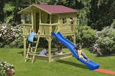 adelaparvu.com despre modele casute si locuri joaca copii, design Delta…