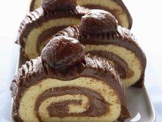 Biskuitrolle mit Maronicreme ist ein Rezept mit frischen Zutaten aus der Kategorie Biskuitrolle. Probieren Sie dieses und weitere Rezepte von EAT SMARTER!