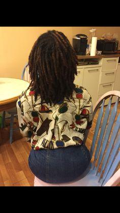 Black Women Dreadlocks, Nattes Twist Outs, Dreads Styles, Natural Hair Styles, Long Hair Styles, Healthy Hair Growth, Hair Affair, Natural Hair Inspiration, Pretty Hairstyles
