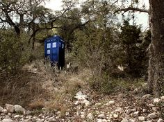 Definitely need a TARDIS in my future backyard.