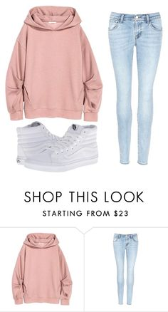 """casual"" by mandizurla ❤ liked on Polyvore featuring J Brand and Vans"