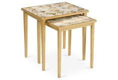 Lila Horn Nesting Tables