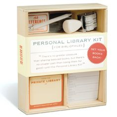 knock knock | library kit