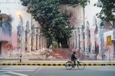 Image 1 of 50 from gallery of This Street Art Foundation Is Transforming India's Urban Landscape—With the Government's Support. The Origin of the World by Borondo, Lodhi Colony, Delhi