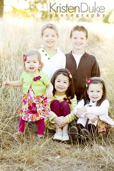 Just the kids - Love how they are posed/grouped :)