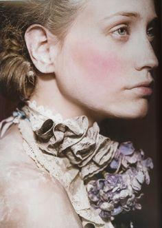 "Lush Magazine fall issue ""Marie Antoinette"" photography by Bernard Tartinville"