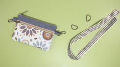 DIY BELT POUCH BAG [sewingtimes] Diy Belt Pouches, Diy Coin Purse, Coin Purse Pattern, Pouch Bag, Celtic Heart Knot, Diy Belts, Diy Fashion Hacks, Zipper Pouch Tutorial, Bag Patterns To Sew