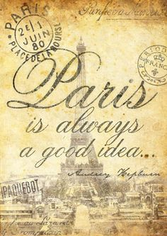 Paris is always a good idea. Daydreaming about the city of love...