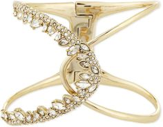 Alexis Bittar Jagged Marquis Overlapping Hinge Cuff