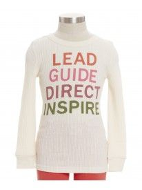 Be a leader this school season in our Leader Tee.
