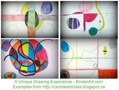 A Unique Drawing Experience: Drawing Lessons for Kids: KinderArt ®