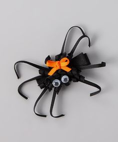 Look at this Black Spider Clip on #zulily today!