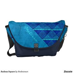 Andean Square Messenger Bag