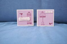 Hannah's Craft Cottage: Mini monochromatic cards