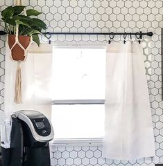 How to replace the curtains in your RV? This is the easiest update without painting if you get rid of the valances and replace them with curtains. Caravan Curtains, Camper Curtains, Curtains For Camper, Camper Blinds, Camper Windows, Travel Trailer Decor, Travel Trailers, Diy Camper, Camper Ideas