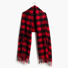 Love that this can be worn as a cape or scarf! From Madewell.