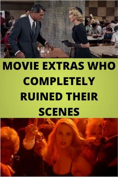 #MOVIE #EXTRAS WHO #COMPLETELY RUINED THEIR #SCENES