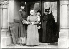 A 103 year old woman voting for the first time in 1916.