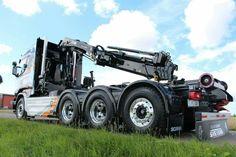 Scania R580. zwaar auto kraan.