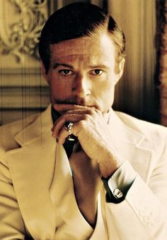 Robert Redford in The Great Gatsby