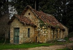 cottages in greece | Stone cottage in Greece.