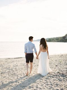 A beach engagement session: http://www.stylemepretty.com/2016/01/11/15-wedding-trends-you-wont-regret/: