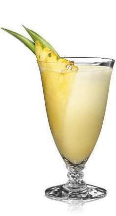 Pina Colada  Ingredients:    2 parts BACARDI Superior Rum  Frozen crushed pineapple  1-1/2 parts coconut cream (fresh is best)  1 part pineapple juice  3 parts caster sugar  Pineapple wedges for garnish  Directions:    In advance, freeze crushed fresh (or canned) pineapple in ice cube trays.  Combine all ingredients (except the garnish, of course) in a blender or cocktail shaker.  Pour into frozen soda glasses.  Garnish and serve!