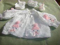 61 New Ideas Crochet Cardigan Girl Children Ravelry Baby Knitting Patterns, Baby Cardigan Knitting Pattern Free, Baby Patterns, Crochet Cardigan, Baby Girl Crochet Blanket, Crochet Baby Clothes, Baby Girl Blankets, Baby Doll Nursery, Knit Baby Sweaters