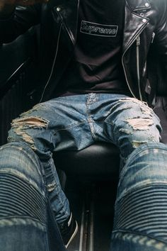 #distressed #jeans #denim #streetwear