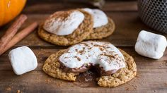 Pumpkin Spice Hot Cocoa Cookies