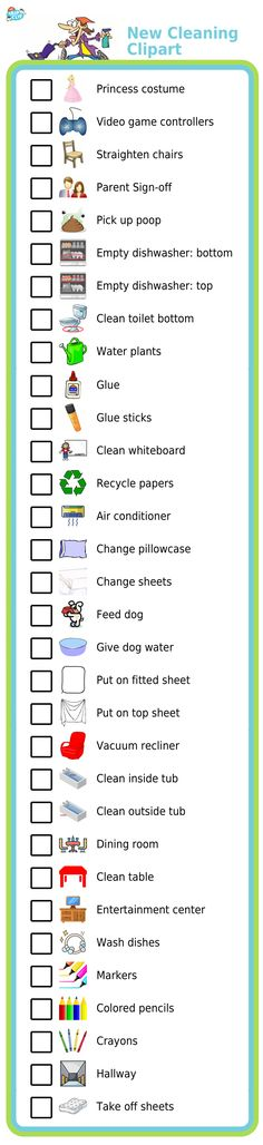 I've had lots of good customer feedback about images to add to the Cleaning Checklists activity for The Trip Clip. Here are all the new pictures you can use now! Click through to see the full collection.