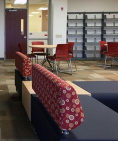 KI's educational furniture is versatile, durable & supports community-driven learning. Award winning designs created by education market experts. #iSpyKI at the Philadelphia Charter School #Strive #Trek #Hub