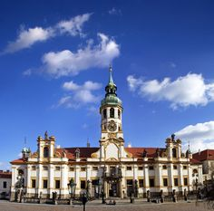 Pilgrim Place Loreta, Prague, Czech Republic.